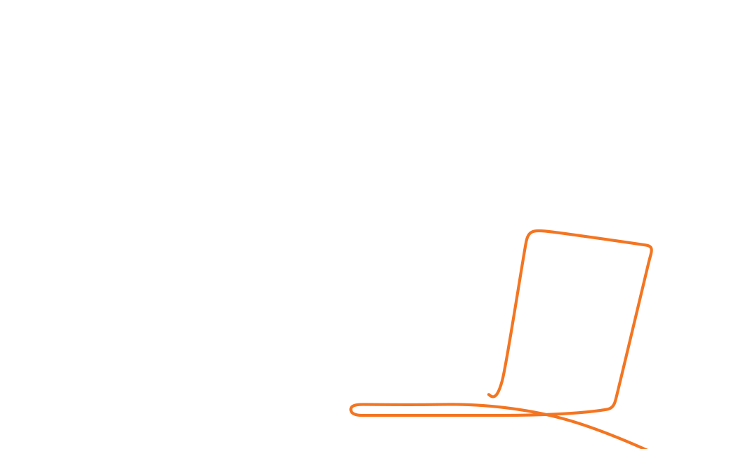 A woman holding a laptop